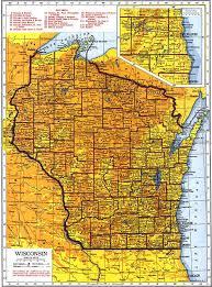 Wisconsin Map Usa Milwaukee Downtown Map Netmaps Usa Wall Maps Shop Online Taliesin