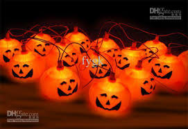 pumpkin lights 2018 strings props haunted bar decorative pumpkin string