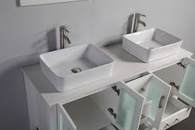 legion 59 inch double vessel sink bathroom vanity with mirrors