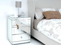 appealing modern mirrored nightstands nightstand mirror