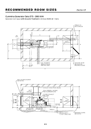 room design generator 86548526 installation for generator set