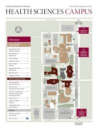 Loyola University Chicago Map by Apamsa Region Vi Conference