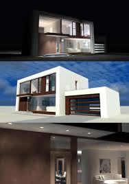 Contemporary Modern House House Plan 67594 At Familyhomeplans Com