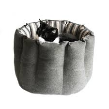 wool cat bed cat pouf modern cat furniture pet bed luxury