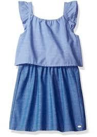 tommy hilfiger tommy hilfiger little girls u0027 chambray dress