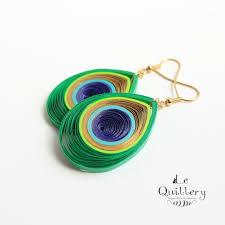 paper earrings paper quilling earrings best 25 quilling earrings ideas on