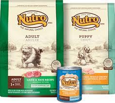 natural dog food nutro