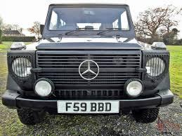 benz g wagon 300d diesel 4x4