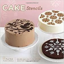 Cake Decorating Books Online Buy Cake Stencil Kit Book Online At Low Prices In India Cake
