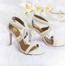 pearl wedding shoes maisie ivory pearl wedding shoes by vintage styler