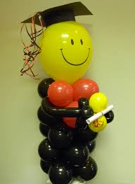 graduation balloon centrepieces pinterest graduation