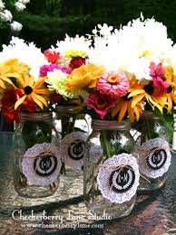 jar floral centerpieces diy jar floral centerpieces