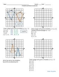 translation worksheet by math monkey teachers pay teachers