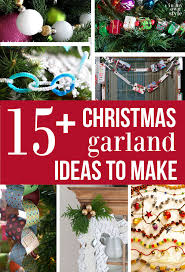 Ideas To Decorate My Tree How To Make Hang Tree Garland In My Own Style