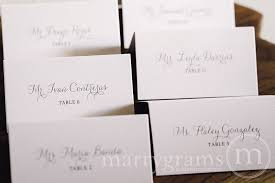 place cards for wedding reception place card cards thin style