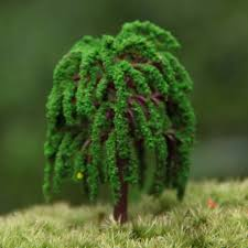 aliexpress buy artificial mini trees willow garden
