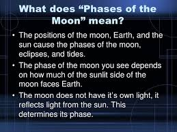 astronomy lunar phases eclipses and tides