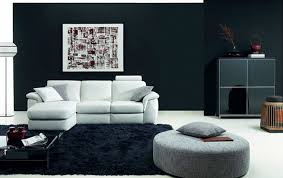 interior black and white interior design come with wall mounted