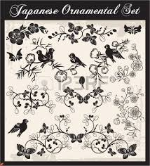 japanese ornaments royalty free cliparts vectors and stock