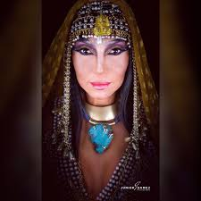 cleopatra makeup halloween youtube
