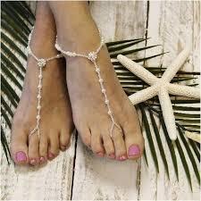 barefoot sandals wedding elegance barefoot sandals wedding foot jewelry rhinestone