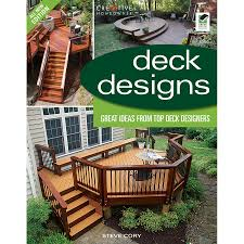 home design alternatives shop home design alternatives deck designs 3rd edition at lowes