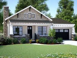 Bungalow Home Plans One Story Craftsman Style House Plans One Story Bungalow House