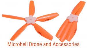 Orange Accessories Microheli Drone And Accessories Drones