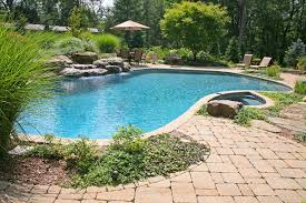 Pool Landscape Pictures by Pool U0026 Spa Magic Landscaping Landscape Design Services