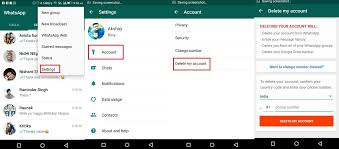 delete account android how to delete whatsapp account permanently techuntold