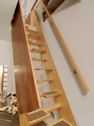 stairs to attic ideas a more decor
