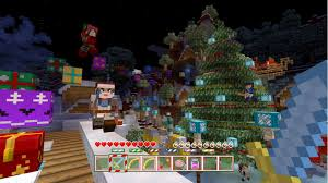 minecraft u0027s holiday update is live for playstation xbox and