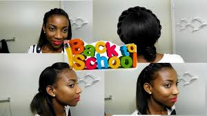 5 easy 5 minutes back to hairstyles for relaxed hair