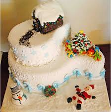Christmas Cake Decorations Set by 49 Best Christmas Cakes Images On Pinterest Christmas Cakes
