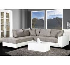 canapé blanc d angle canapé d angle convertible blanc gris vigo home