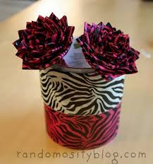 Duct Tape Flowers Vases And Pens Duct Tape Craft Ideas