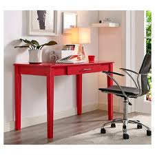 home computer desk home office wood writing computer desk red saracina home target