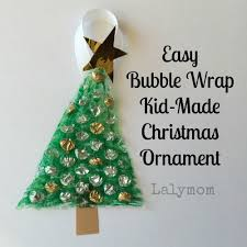 easy wrap kid made ornament lalymom