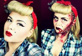 bloody pin up rockabilly for halloween youtube