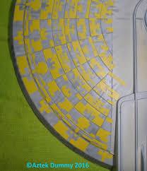 starship excelsior aztec paint masks from aztek dummy