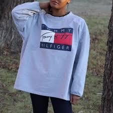 vintage hilfiger sweaters hilfiger sweater size xl fits like a l