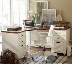 Computer Desk Sets Whitney Corner Desk Set Pottery Barn