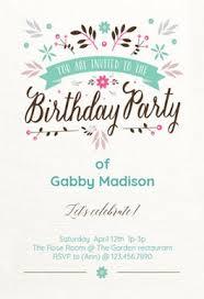 birthday invitation free birthday invitation templates greetings island