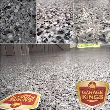 21 year flake epoxy garage floor garage kings
