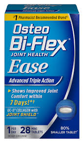 Joint Comfort Dietary Supplement Ease Osteo Bi Flex Osteo Bi Flex Joint Health Supplement