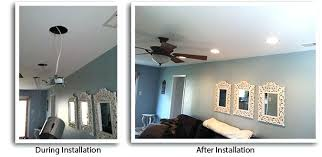 how to install light kit to existing ceiling fan how to install can lights in an existing ceiling how to install can