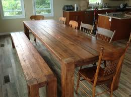 Kitchen Tables Houston by Kitchen Reclaimed Wood Kitchen Table For Stylish Rough Wood