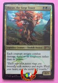 siege tower definition mtg judge promos foil doran the siege tower x1 mint card ebay