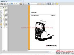 jungheinrich forklift etv 320 2008 spare parts and instruction