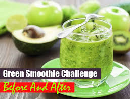 Challenge How Does It Work Green Smoothie Challenge Before And After Does A Smoothie Only